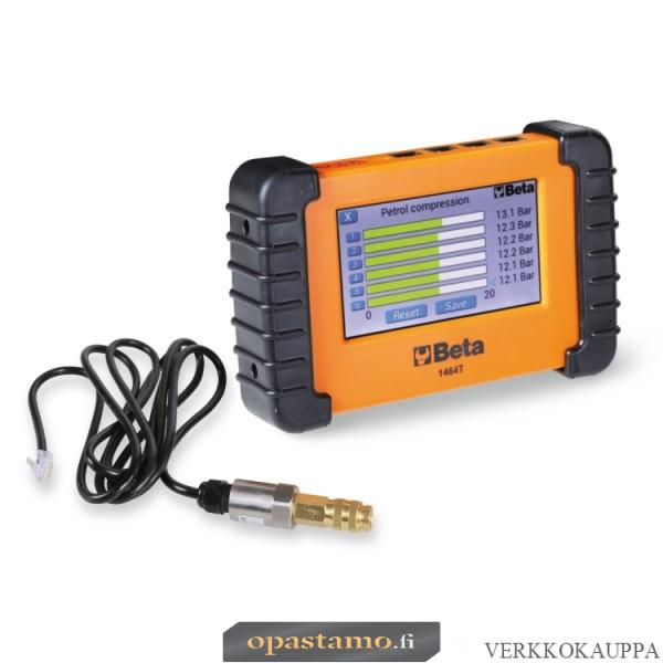 BETA 1464T Digitaalinen päätelaite virtausten, puristusten ja erilaisten paineiden mittaamiseen. Varusteltavissa monenlaisilla antureilla hydrauliikkaan, polttoainejärjestelmiin ja moottoreiden toimintaan liittyen.