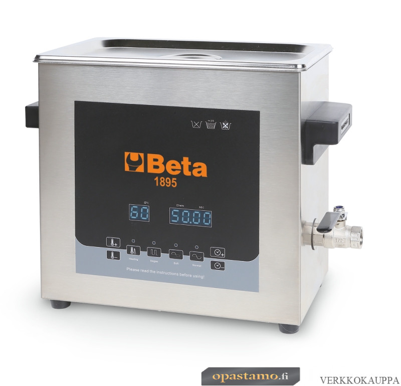 BETA 1895 6-ULTRASONIC CLEANING TANK, 6 L