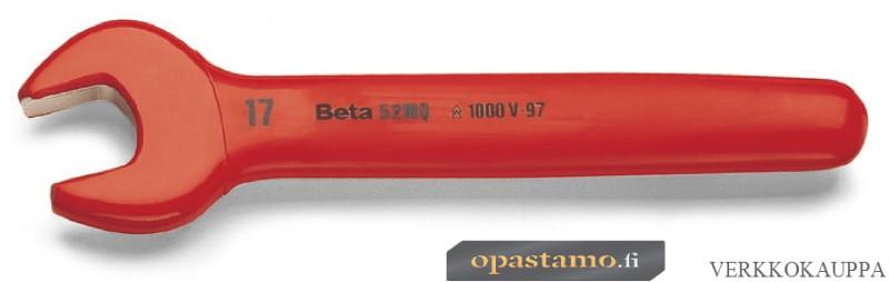 BETA 52MQ 19 yksipäinen kiintoavain, suojaeristetty 1000V