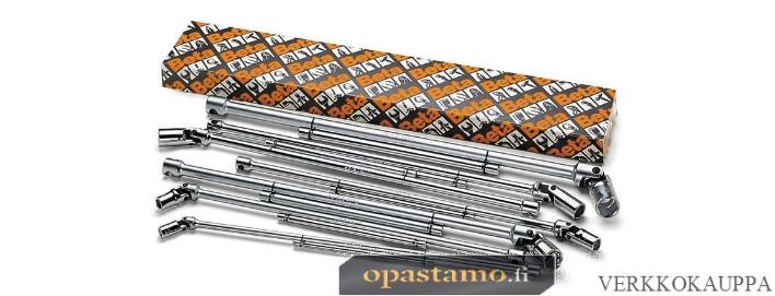 BETA TOOLS 952FTX/S9 T-Kahva nivelhylsyavaimet laatikossa, sarjassa 9 avainta