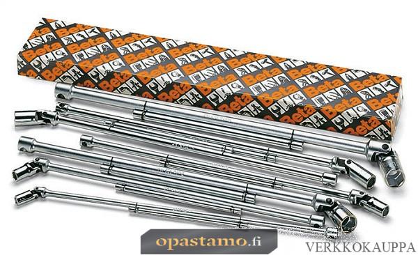 BETA TOOLS 952/S7  T-kahva nivelhylsyavaimet (ITEM 952) sarja pakkauksessa, 7 avainta