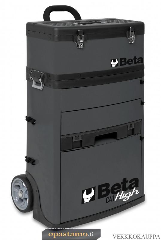 BETA TOOLS C41H-G  kaksimoduulinen trolli RAL 7016