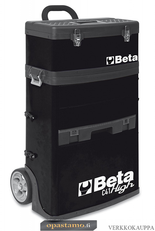 BETA TOOLS C41H-N  kaksimoduulinen trolli RAL 9005