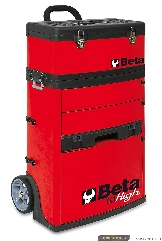 BETA C41H-R kaksimoduulinen trolli RAL 3000
