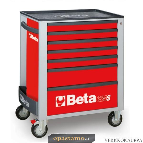 BETA C24S/7-R liikuteltava työkaluvaunu 7:llä laatikolla
