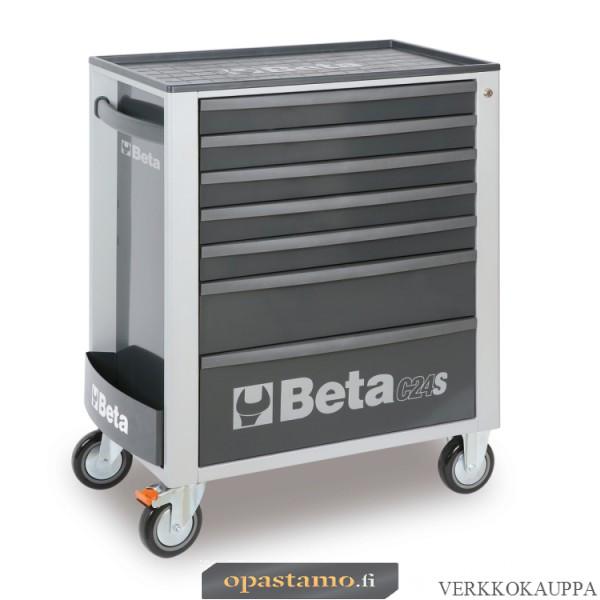 BETA TOOLS C24S/7-G  liikuteltava työkaluvaunu 7:llä laatikolla