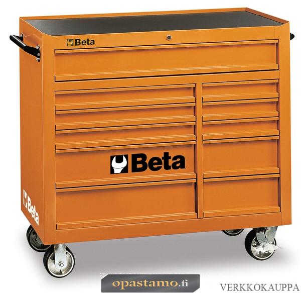 BETA TOOLS C38-O  liikuteltava työkaluvaunu 11:llä laatikolla