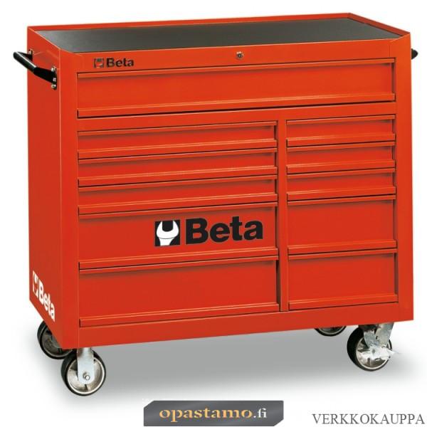 BETA TOOLS C38-R  liikuteltava työkaluvaunu 11:llä laatikolla