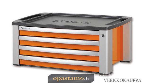 BETA TOOLS C39T-O  siirreltävä työkalulaatikosto 4 laatikolla. Voidaan asentaa vaunun C39 päälle