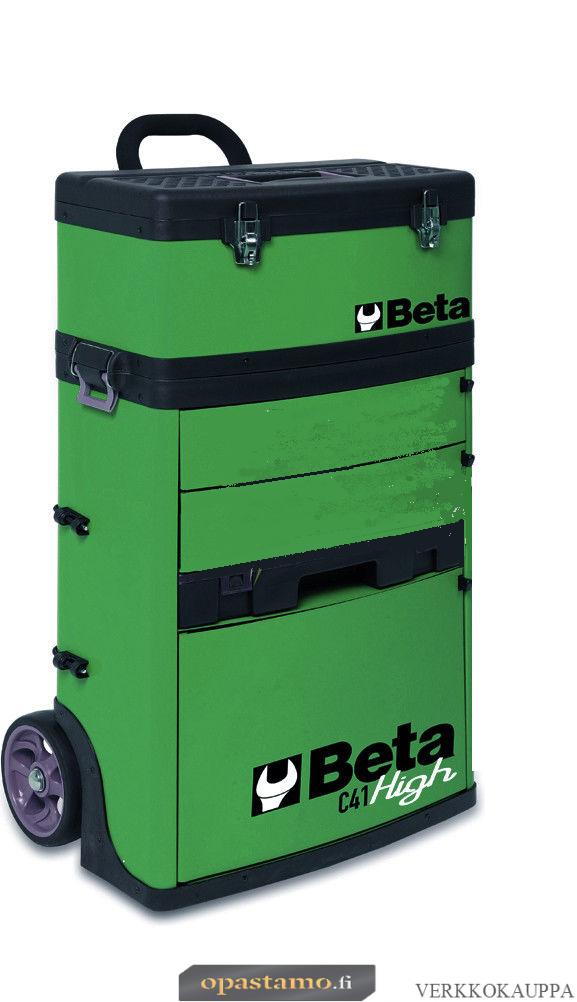 BETA TOOLS C41H-V  kaksimoduulinen trolli RAL 6016