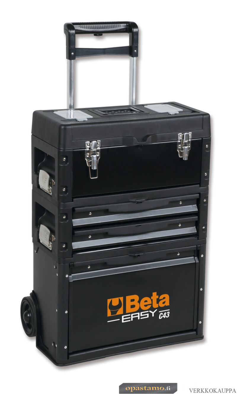 BETA C43 Three-module tool trolley