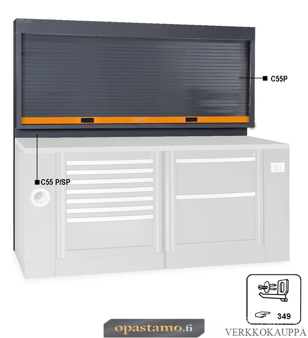 BETA C55PS-O TOOL WALL SYSTEM WITH SHUTTER