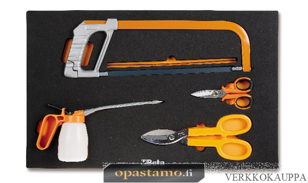 BETA M285-4 TOOLS+5 BLADES SOFT THERMOFORMED