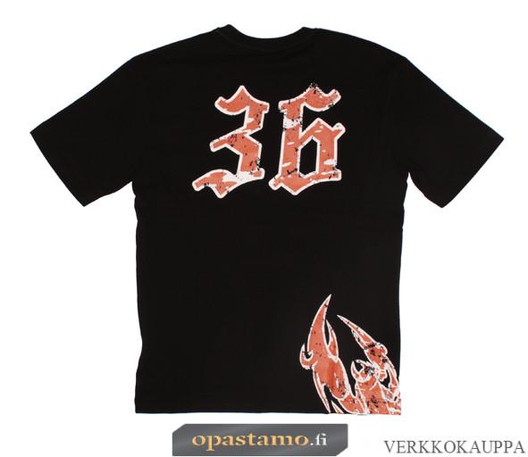 Mika Kallio T-paita musta MK36