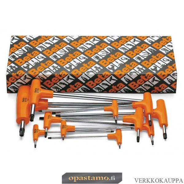 BETA  97TTX/S6 koloavainsarja Torx® pakkauksessa