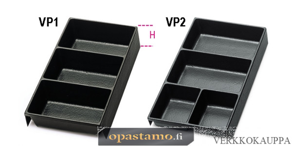 BETA VP1-THERMOFORMED TRAYS FOR SMALL ITEMS
