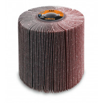 BETA 11411 40 Flap wheels with corundum cloth for satinizing machines