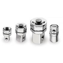 BETA  123/K4 adapterisarja 10 mm räikkälenkkeihin, pikakiinitys vääntiöille ¼, 3/8 tai ½ ja Bits pitimelle