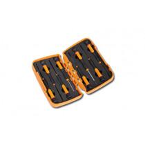 BETA TOOLS 1257TX/S8  MICRO ruuvitalttasarja lompakossa, 8 kpl TORX® (ITEM 1257TX)