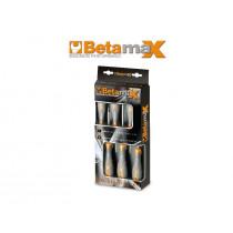 BETA TOOLS 1293/D8 ruuvitaltat BetaMax, 8 kpl, riippupakkauksessa