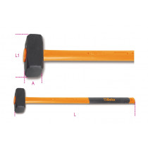 BETA 1381T 3000-SLEDGE HAMMERS FIBRE SHAFTS