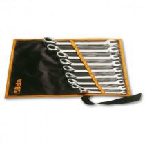 BETA 142/B6 räikkälenkkisarja suunnanvaihdolla (TUOTE 142) taskussa, 6-avainta, koot 8-10-13-14-17-19 mm