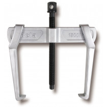 BETA 1500N/6 ulosvetäjä, kaksi jalkaa, liukuva. Korkeus max 205mm. Halkaisijat min-max 43÷320mm. Kynnen paksuus 23mm