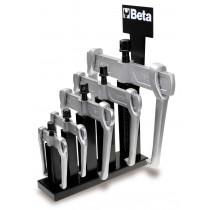 BETA 1500N/SP6 sarjassa 2-jalkaiset, liukuvat ulosvetäjät 5kpl metallituessa. Koot 1500N/0-1500N/1-1500N/2-1500N/3 1500N/4-1500N/5