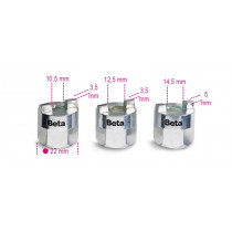 BETA 1557/S3-SOCKETS FOR SHOCK ABSORBER NUTS.