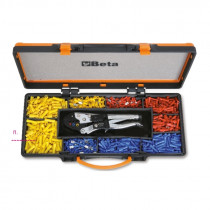 BETA 1604/C9 Self-locking pliers with assortment of 900 terminals