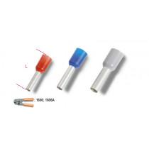 BETA BM00506 pääteholkki, eristetty, puristettava, kaapeleille mm² 2,5. pakkauskoko 250 kpl