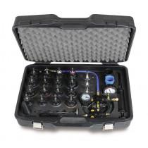 BETA 1759HD/3 Jäähdytysjärjestelmän tiiviystestaus (putket, liitokset, pumput, kennot) ja järjestelmän täyttötyökalut. Mahdollistaa järjestelmän nopean täytön välttäen ilmakuplien muodostumista
