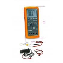 BETA 1760DGT digitaalinen yleismittari. 2- ja 4-sylinterisille ajoneuvoille kierroslukualueen mittaukset 600-12000RPM sekä 4-8 sylinterisille 300-6000RPM. DC ja AC jännitteet ja virrat