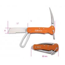 BETA 1778X-NAUTICAL KNIVES, ALUMINIUM HANDLE
