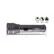 BETA 1834PL-HIGH-BRIGHTNESS LED TORCH 3AA