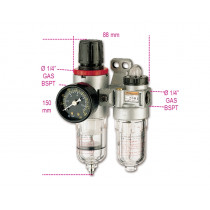 BETA 1919FE1/4-FILTER-REGULATOR-LUBRICATOR.