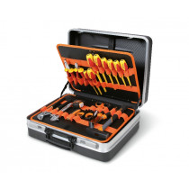 BETA 2028EL/A Tool case with assortments of tools for electronic and electrotechnical maintenance.