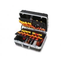 BETA 2029 EL/B Tool cases with assortments of tools for electronic and electrotechnical maintenance.