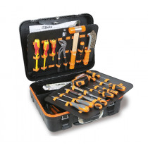 BETA 2032T EL/A Tool trolley with assortments of tools for electronic and electrotechnical maintenance.