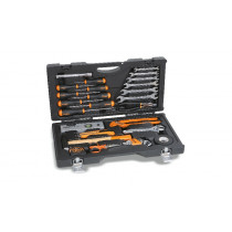 BETA 2041UC Utility Case with assortment of 33 tools.