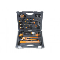"BETA 2055HB ""Home Bag"" case with assortment of 24 tools."