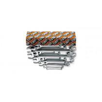 BETA 42/S14 yhdistelmäavain sarja pakkauksessa, 14-avainta, koot 6-7-8-10-11-12 13-14-15-16-17-19 22-24 mm