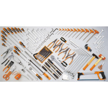 BETA 5904 VG/3 Assortment of 132 tools
