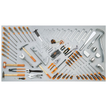 BETA 5905VG/1 Assortment of 94 tools for car body repair shops