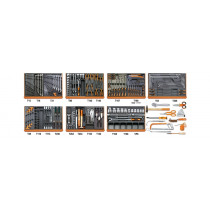 BETA 5908 VG/2T Assortment of 212 tools