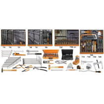BETA TOOLS 5910VI/3T-ASSORTMENT OF 261 TOOLS