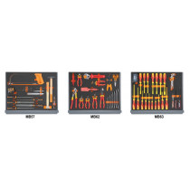 BETA 5935 ET/1MB Assortment of 95 tools for tool chest C35, in soft foam trays
