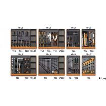 BETA 5938U/2T työkalulajitelma 210-osaa lämpömuovatuissa paneeleissa