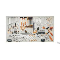 BETA 5957VI sarjassa teollisuus työkaluvalikoima 162-osaa