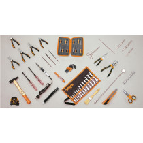 BETA 5980EL/A Työkalulajitelma 57-osaa, elektroniikkatyöskentelyyn